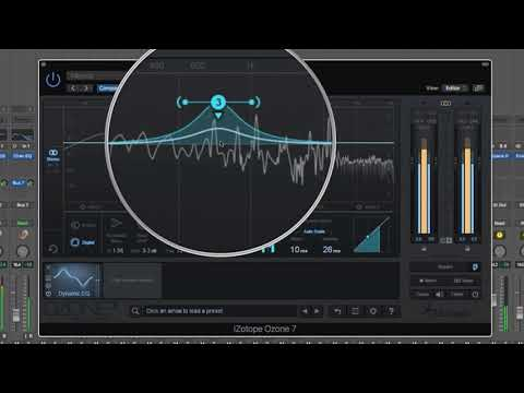 iZotope Ozone 7 - #09 - DYNAMIC EQ Tutorial