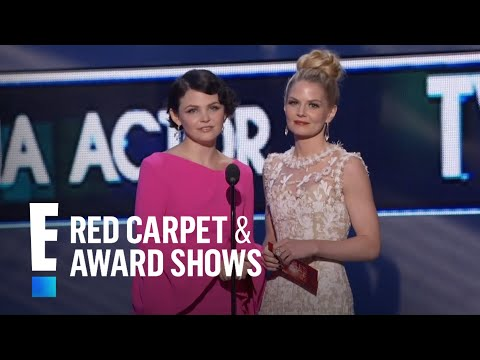 Ginnifer Goodwin and Jennifer Morrison Present at People's Choice Awards 2012