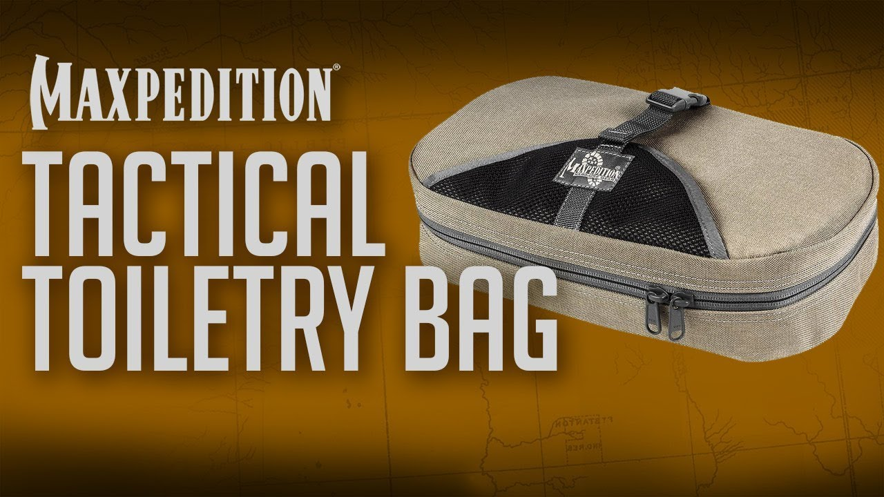 325fe2df74f5 Travel advice  Maxpedition® Tactical Toiletry Bag for on the go around the  world