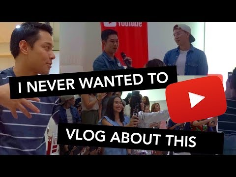 YouTube Creators Day in Cebu, Philippines with ambassadors Jako de Leon and Janina Vela