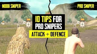 Top #10 Tips for Pro Snipers [Attack + Defence] in Pubg Mobile | in Hindi | BlackClue Gaming