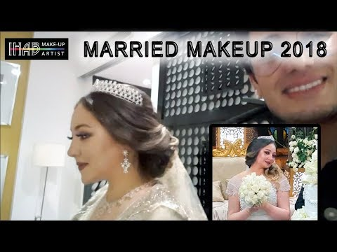 مكياج عروس 2018 MARRIED MAKEUP 2018 - IHAB MAKEUP ARTIST