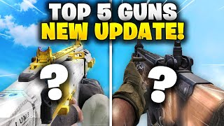 TOP 5 BEST WEAPONS in COD Mobile! (AFTER UPDATE!)