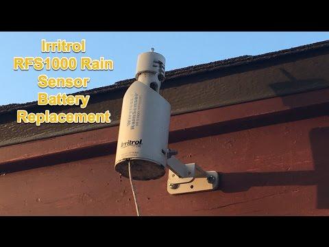 Irritrol Rain Sensor Battery Replacement RFS1000 CR2032 ...