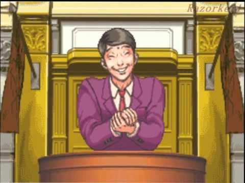 Phoenix Wright: Ace Attorney Walkthrough Case 1 - The First Turnabout