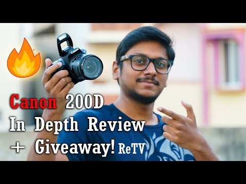 Canon EOS 200D In depth Review with Photo & Video Samples!