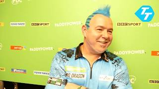 Peter Wright REACTS to BIZARRE contest against Daryl Gurney | Champions League 2019
