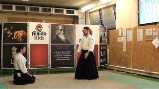 ryotedori shihonage omote [TUTORIAL] Aikido basic technique