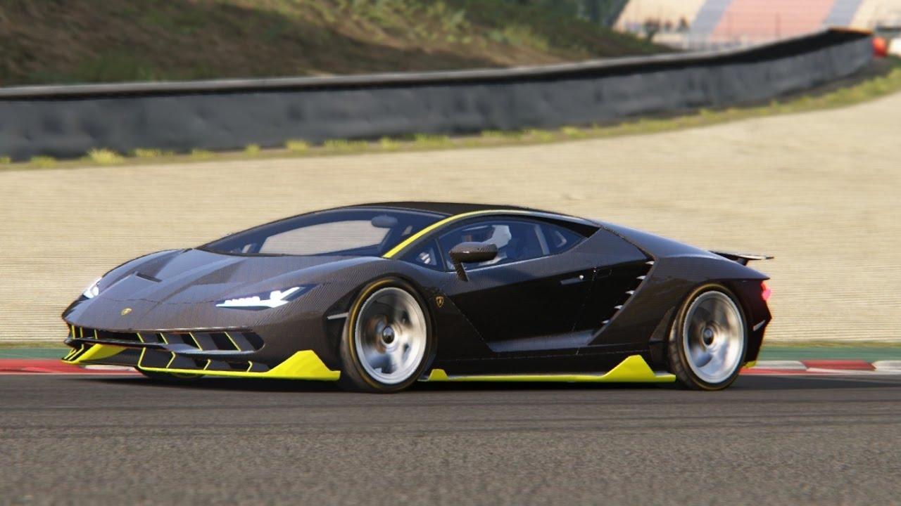 Battle Lamborghini Centenario Vs Lamborghini Aventador Sv At