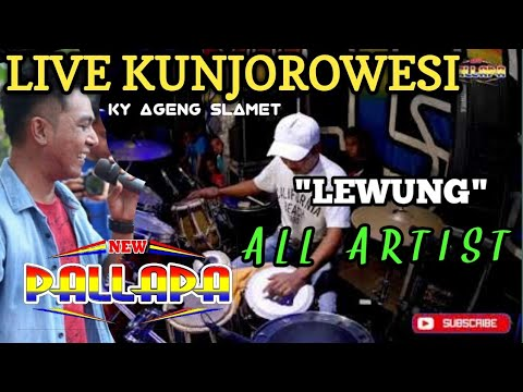 All Artis - Lewung - New Pallapa Kunjorowesi 2018