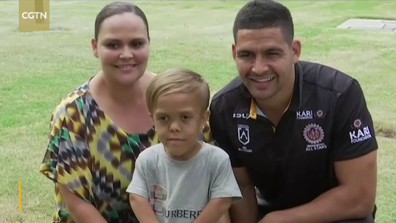 Bullied Australian Boy Quaden Bayles Leads Out All Star Rugby Team