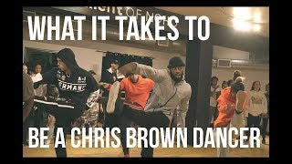 chris browns choreographer stops by vlog 3