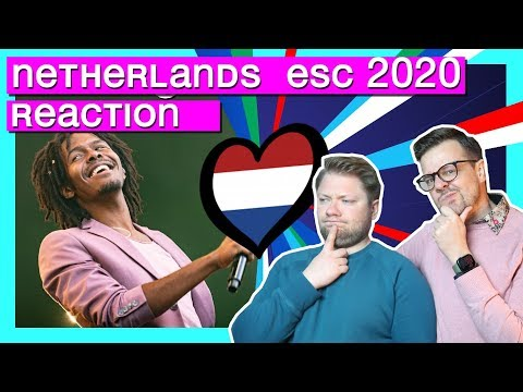 Netherlands Eurovision 2020 // REACTION VIDEO // Jeangu Macrooy - Grow