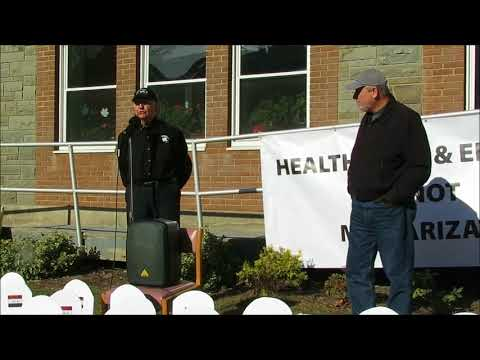 Veterans for Peace Rally and March -  Binghamton, NY. - 11-11-17
