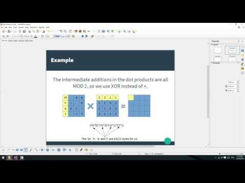 AES Encryption 4: Matrix Multiplication