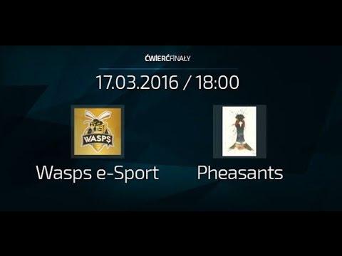Liga FEC #2 [CS] - ĆWIERĆFINAŁ - Wasps e-Sport vs Pheasants - mecz 2