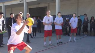 Marina High School Dodgeball Game 2011