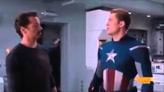 Capitão America VS Homem de Ferro