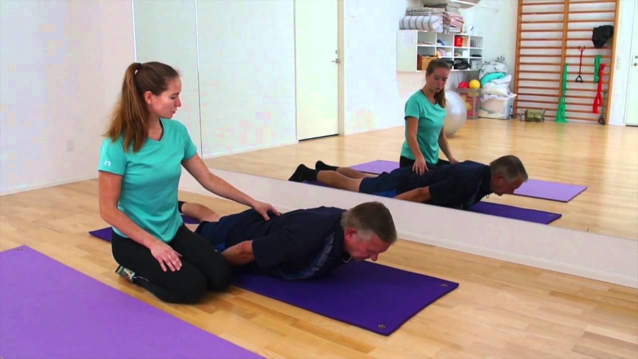 træning af ryg
