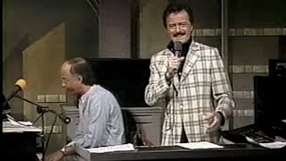 Supermarket Finds (w/Robert Goulet) on Late Night, August 12, 1987