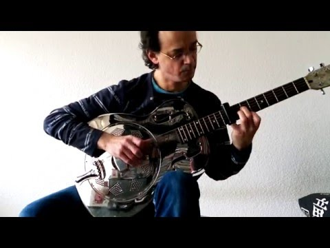 """One Of These Things First"" (N. Drake) Slide guitar version - Marc Athlan"