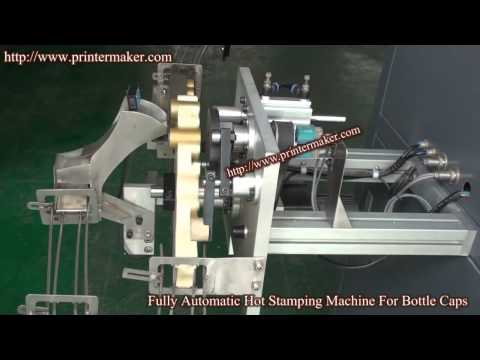 Aluminum Caps Fully Automatic Hot Stamping Machine