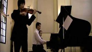 Sonata for Violin and Piano No 1 in G major, op 78 part 2 (Adagio) Johannes Brahms