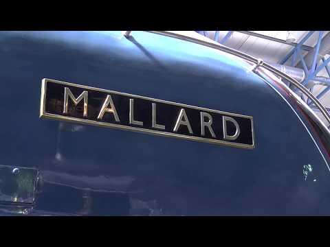 National Rail Museum York Grand Hall short video tour 2014 British Rail