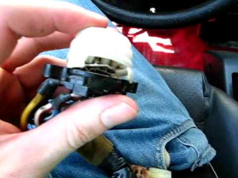 ignition switch replacement in my 88 civic youtube 91 Mustang Ignition Switch