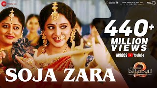 Download Soja Zara | Baahubali 2 The Conclusion | Anushka Shetty & Prabhas & Satyaraj | Madhushree |M.M.Kreem MP3 song and Music Video