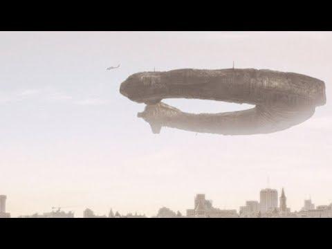 Huge UFO over JERUSALEM (CGI)