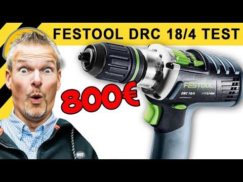 800,-€ AKKUSCHRAUBER TEST - FESTOOL DRC 18/4 Li 5,2 QUADRIVE & Vergleich FEIN, METABO & BOSCH