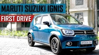 Maruti Ignis Review in Hindi | First Drive