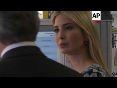 Ivanka Trump visits Siemens Technical Institute