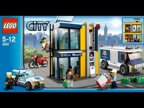 How To Build Lego City 3661 1 Of 3 Instructions Youtube