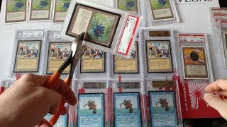 $150,000.00 in Vintage Magic Cards so lets SHATTER some GRADED cards