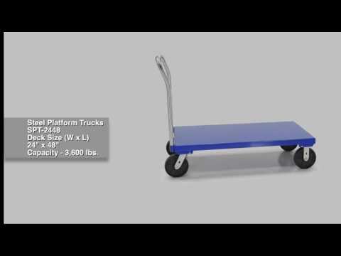 Steel Platform Trucks SPT-2448