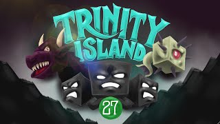 Minecraft: ANOTHER GUARDIAN TEMPLE!! - Trinity Island (Hardcore) - [27]