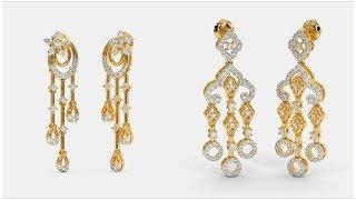 Latest Gold  Earrings Designs | Gold Earrings Designs