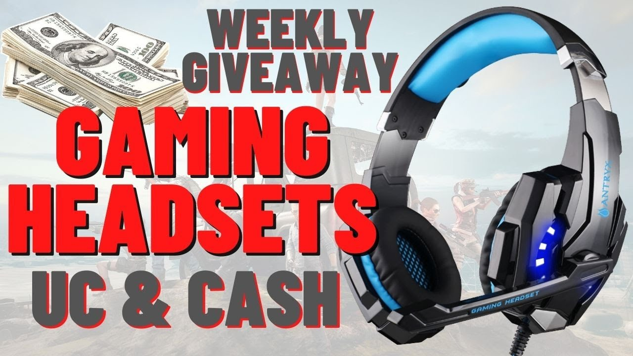 WEEKLY LUCKY SPIN | GAMING HEADSETS CASH and UC GIVEAWAY | MrHybrid | DreamHackers Esports