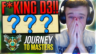 CAN I F*KING WIN?!? | D3 PROMOS AGAIN - Journey To Masters #20 S7 - League of Legends