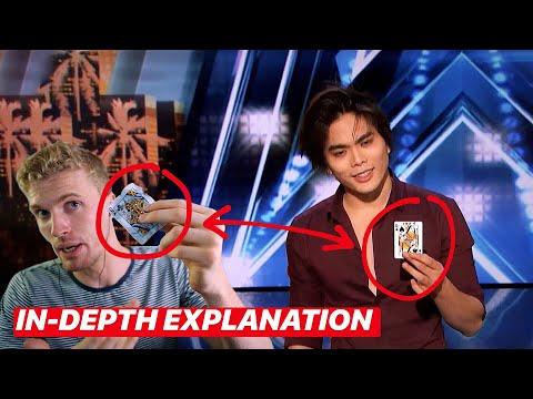 SHIN LIM'S America's Got Talent MAGIC ACT- REVEALED & EXPLAINED