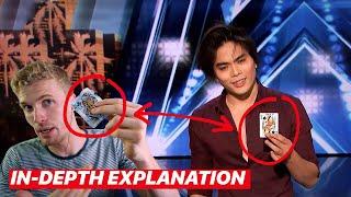 shin lim agt magic trick revealed