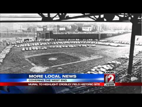 Mural to highlight Crosley Field historic site