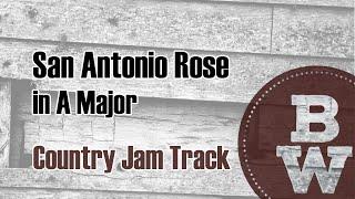 San Antonio Rose - Country Backing Track