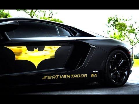 Lamborghini Aventador Batman Edition Batventador New