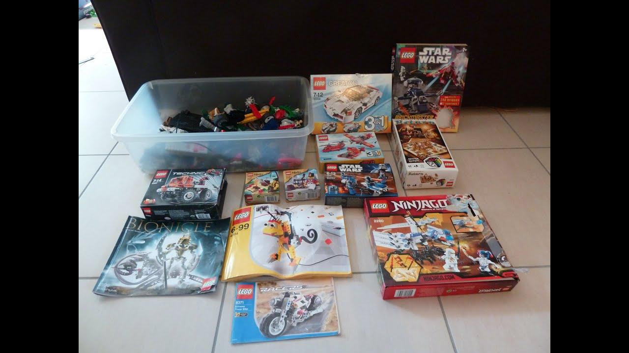 Sale On Legos Lego Haul Na0 1 01 06 2014 Garage Sale Youtube