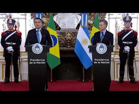 Bolsonaro respaldó la gestión de Macri: No queremos nuevas Venezuelas en la región