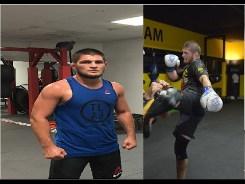 Khabib Nurmagomedov training 2017 for Tony Ferguson UFC 209