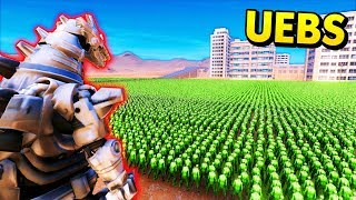 ROBOT GODZILLA vs MASSIVE ARMIES (UEBS / Ultimate Epic Battle Simulator Mods Gameplay)